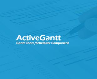 ActiveGantt - Gantt Chart / Scheduler Component