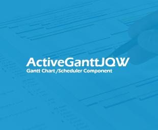 ActiveGantt - Gantt Chart / Scheduler JQuery Widget